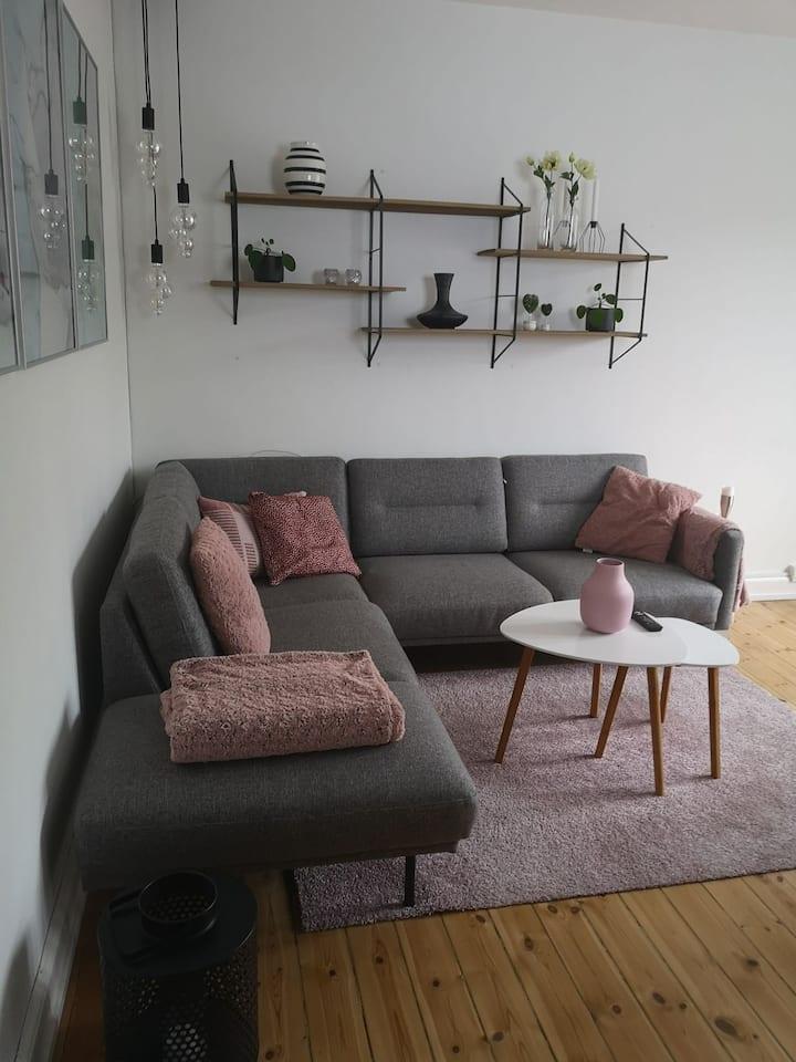 Ny 2 værelses lejlighed i Hvidovre.