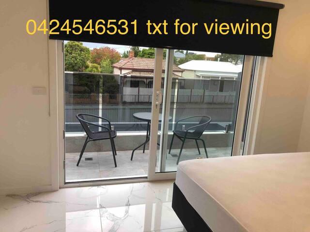 Private en-suite room with balcony/outdoor area