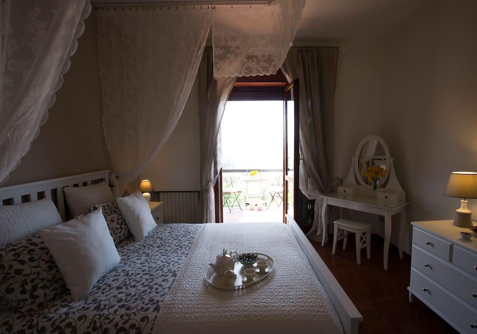 Camera matrimoniale Romantica  letto a baldacchino