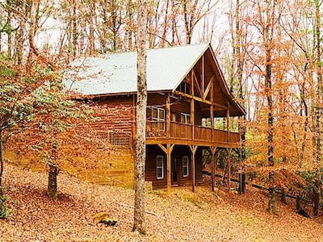 Private, Hidden Cabin with Hot Tub - Cleveland - Other