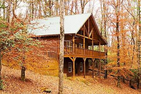 Private, Hidden Cabin with Hot Tub - Cleveland - Overig