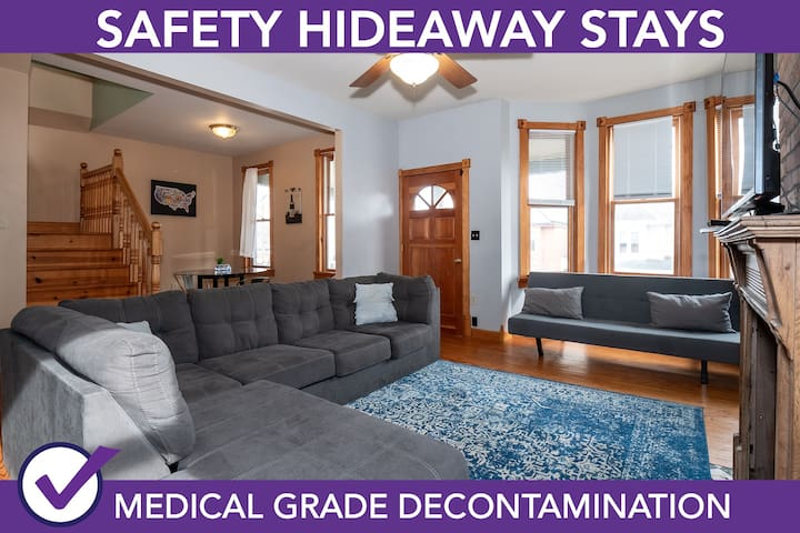 Safety Hideaway - Medical Grade Clean Home 21