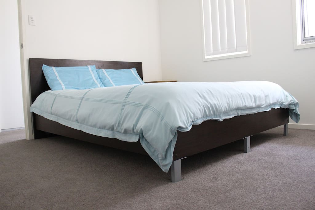 Lovely queen size comfort bed.