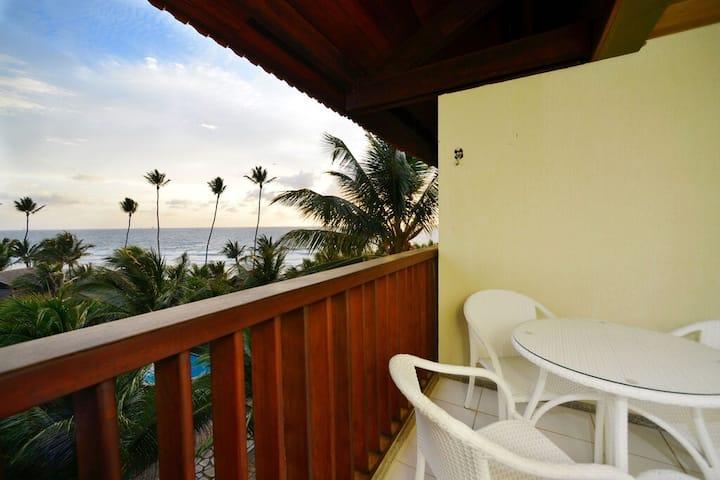 Resort/Condomínio Marulhos quarto sala 6 pessoas