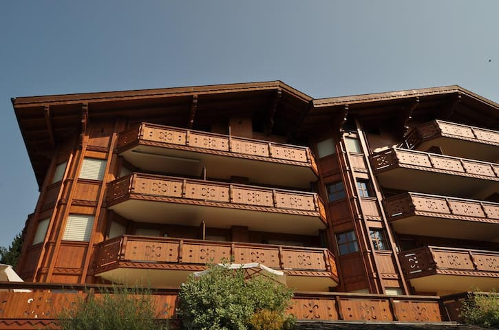 Nice 3 rooms appartment under the rooftops near the cable car of Gryon-Barboleuse
