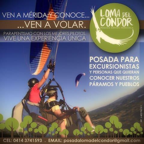 Posada Loma del Cóndor - Mérida - Haus