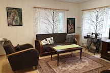 Countryside livingroom.