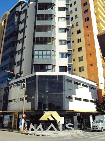 Apartamento a 50 m da praia de Barra Velha - Barra Velha - Leilighet