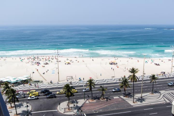 COPACABANA BEACH (Sea View on the 11th floor)
