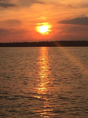 Lake Marion lakehouse