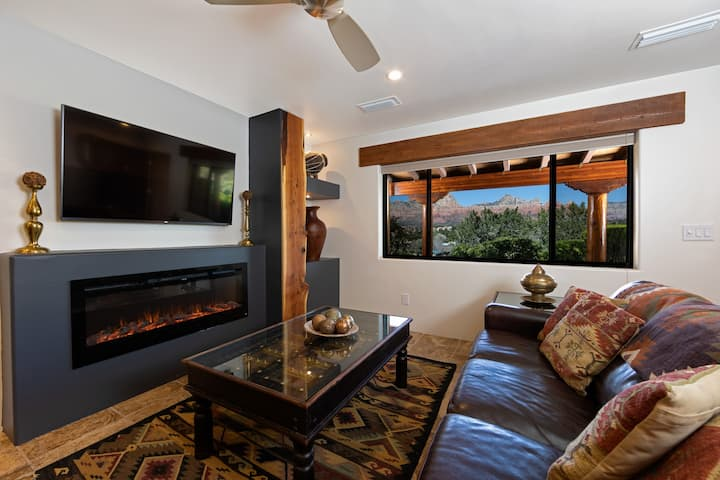 Majestic Red Rock Views, Pvt 1BR Suite #1