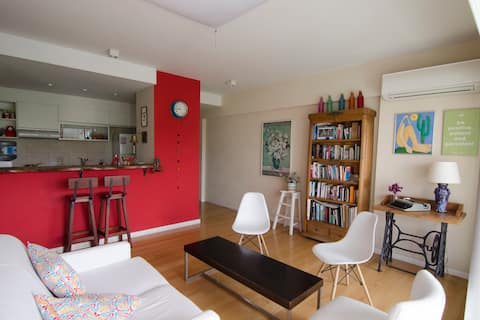 Explore Puerto Madero from this charming apartment