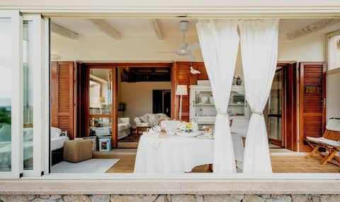 Villa Taphros: your romantic and quiet escape