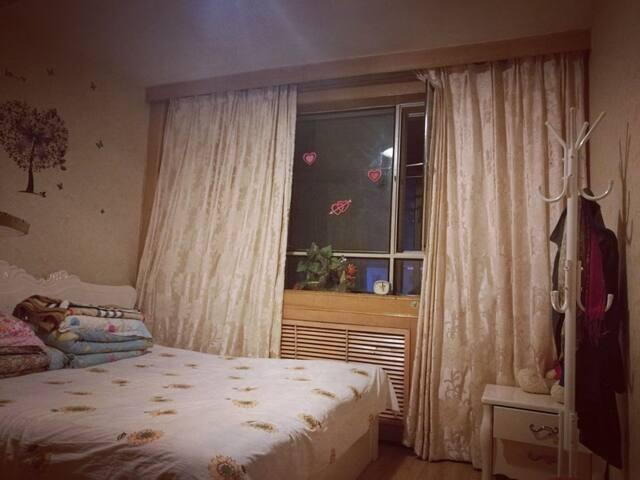 干净舒适主卧大床房,通风采光良好,房子家电设施齐全,24小时热水无线网络。 - Jiaxing - Appartement