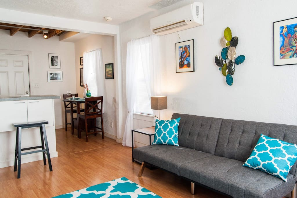 Stylish downtown apt with bike rentals on site - One bedroom apartments in albuquerque ...