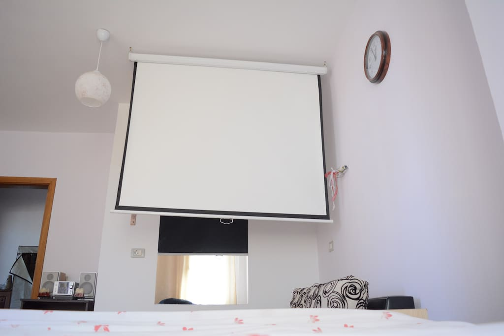 Here is a picture of Projector Screen