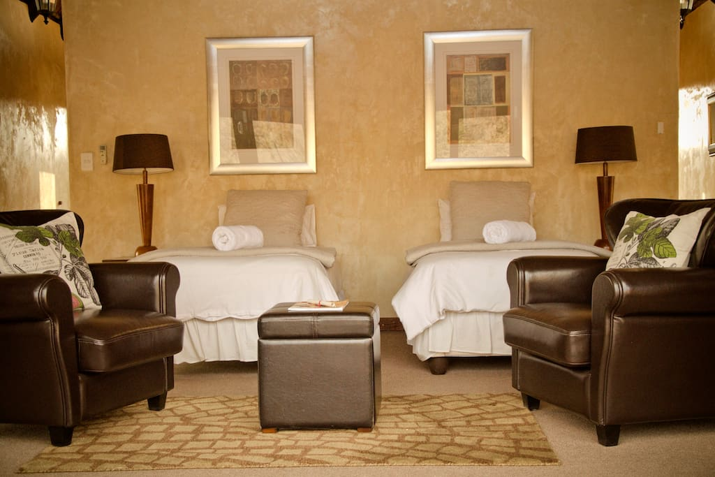 Double Suite - Twin bed Option