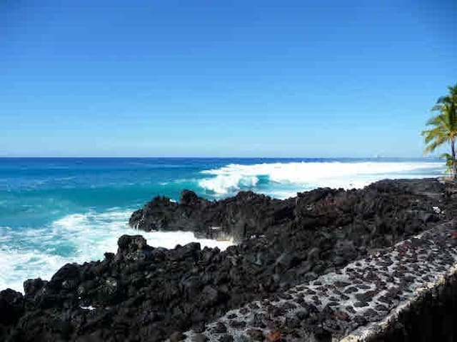 Direct Ocean Front Corner Townhouse - Kailua-Kona - Apartment