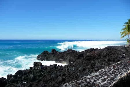 Direct Ocean Front Corner Townhouse - Kailua-Kona