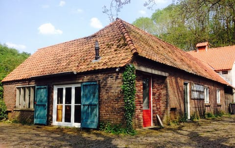 Guesthouse in former fruit farm.