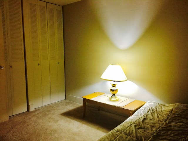 Private room close to WMU - Kalamazoo - Apartamento