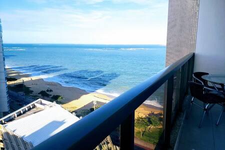 Flat 1216 na praia de Itaparica uma vista perfeita