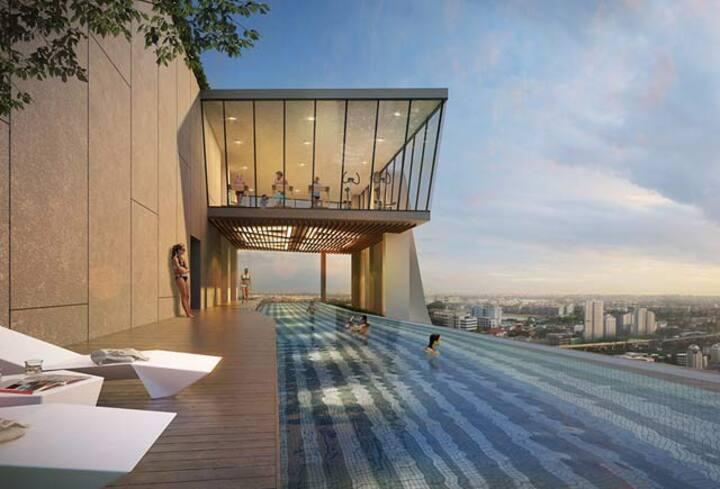 Brand new 1 bedroom near BTS Ratchathewi