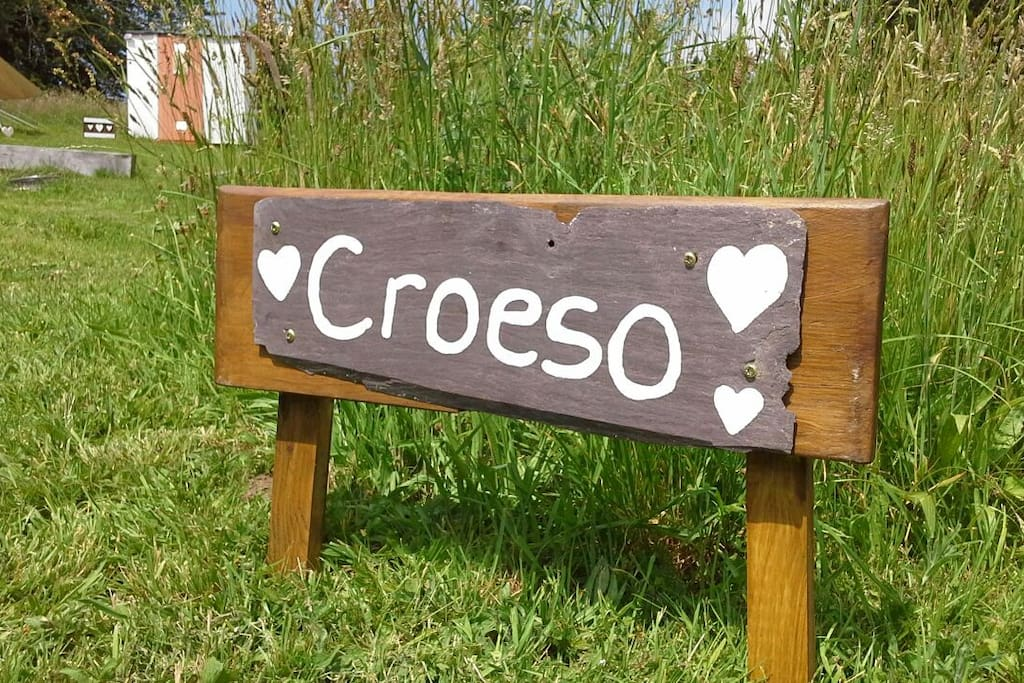 WELCOME (Croeso to Wales)