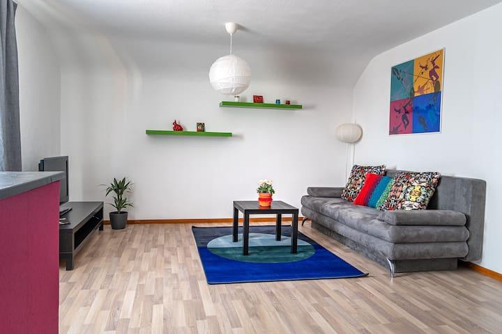 Zentrales Appartement mit Schlossblick