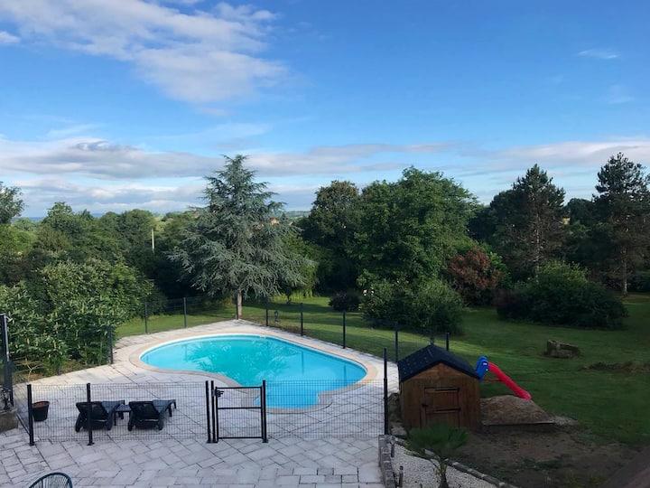 #Annexe de la Doustrie (piscine, terrasse, spa...)