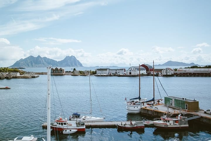 High-end apartment in the harbour of Svolvær
