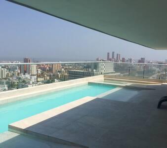 Apto amoblado la mejor ubicación!! - Barranquilla