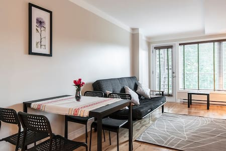 Cozy 1 bedroom apartment (downtown& Old Port) - Montréal - Apartment