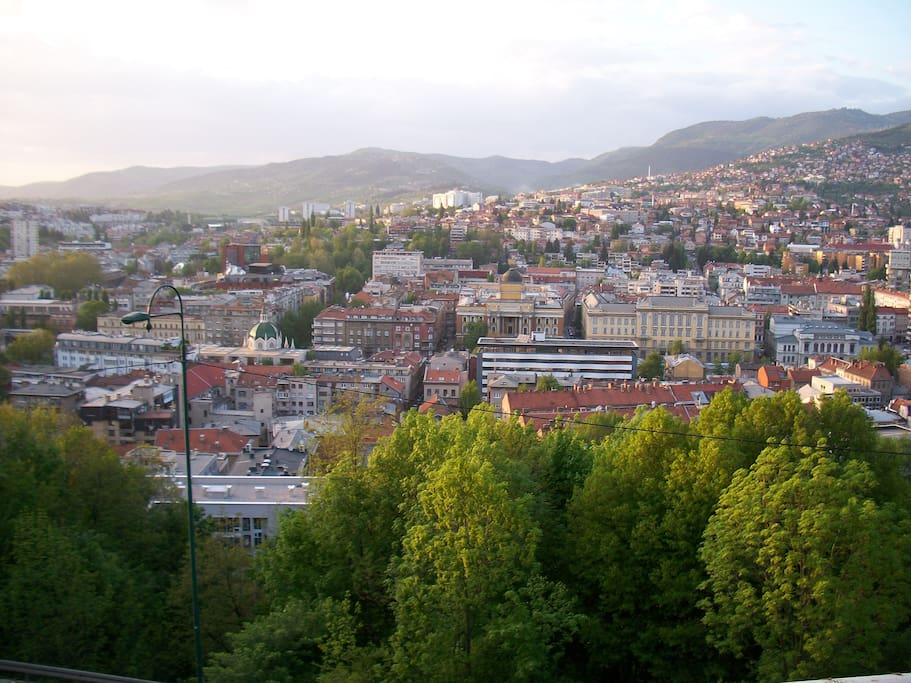 Meet and feel Sarajevo in the right way. * View at the Sarajevo film festival 10.8 - 17.8