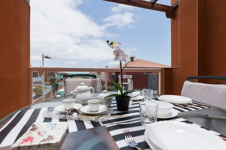 Apartment with terrace in Melenara's Beach