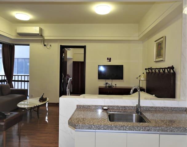碧桂园五号公寓   双床