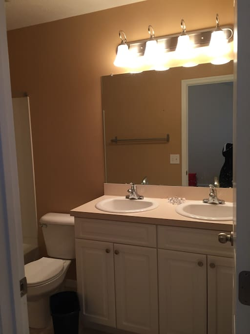 Guest will have their own en suite bathroom