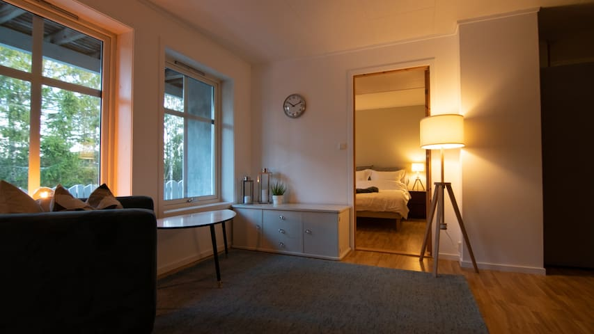 Stylish/comfortable apartment near Oslo AirPort