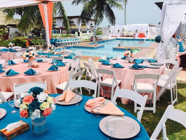Serviced accommodation and Event space in Prampram
