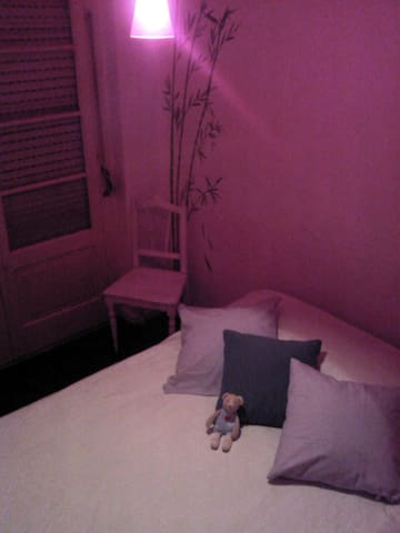 Room with double bed - Algés - Daire
