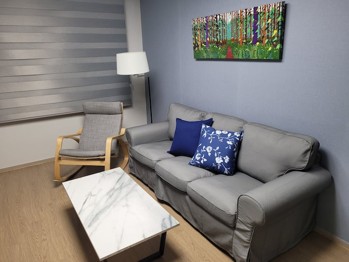 A brand new 3bds condo 3 mins from Camp Humphreys