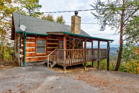 ⛰ View! Private Studio Cabin,Hot Tub,RELAX,Honeymoon