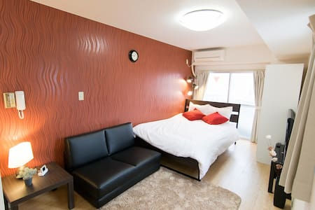 Near station/shopping street! max4+P-wifi&TV!#MS7 - Shinagawa-ku - 公寓