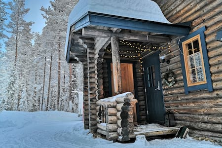 Cozy log Cabin in Ylläs, Lappland. Good location.