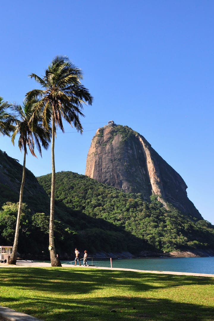Sugar Loaf from Red Beach