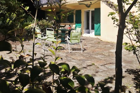 Village flat with terrace & garden - Venaco