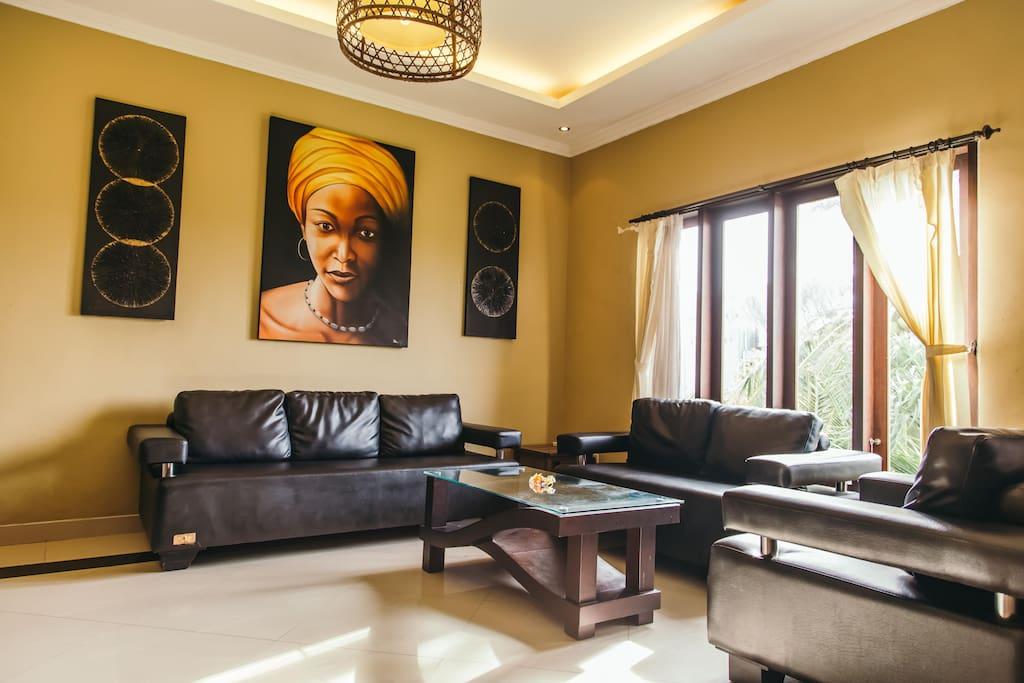 Shared Livingroom for 2 rooms