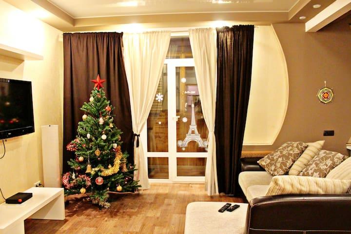 Студия на Чуйкова 1 - Volgograd - Apartment