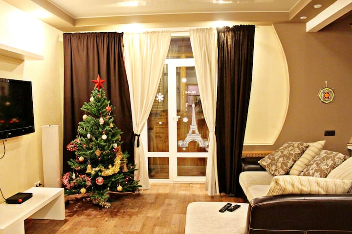 Студия на Чуйкова 1 - Wołgograd - Apartament
