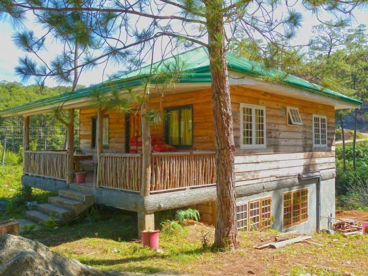 Sagada Log Cottage